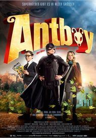 "Movie poster for ""ANTBOY"""