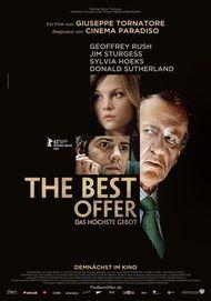 """Filmplakat für """"The Best Offer - Das höchste Gebot"""""""