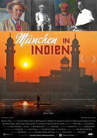 """Filmplakat für """"München in Indien"""""""