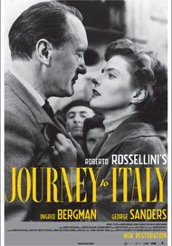 "Movie poster for ""JOURNEY TO ITALY (DCP RESTORATION)"""