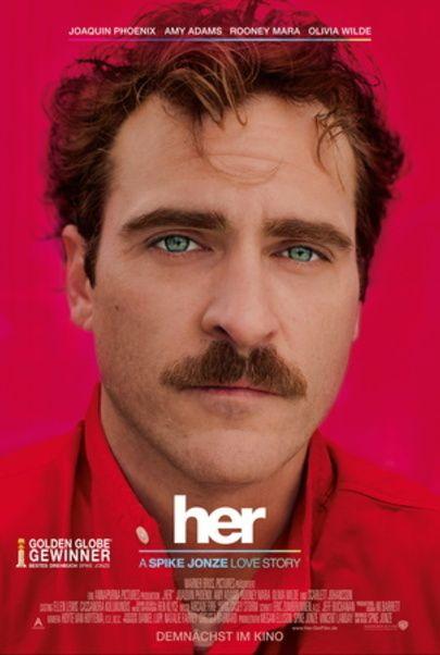 """Filmplakat für """"HER"""""""