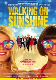 "Filmplakat für ""Walking on Sunshine"""