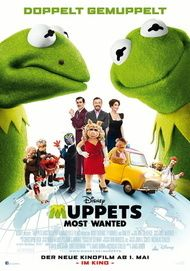 """Movie poster for """"MUPPETS MOST WANTED"""""""