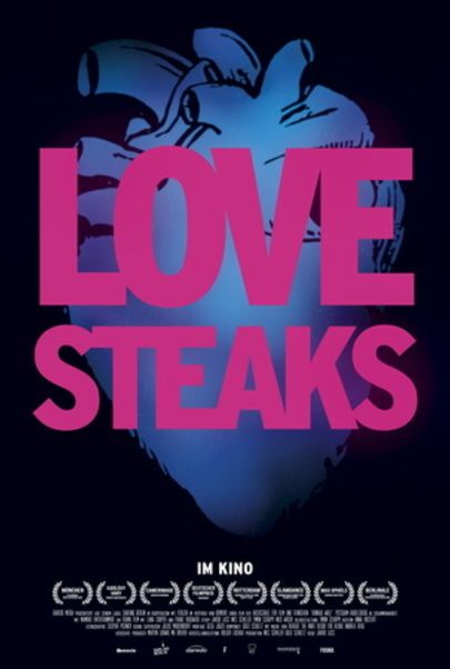 "Filmplakat für ""Love Steaks"""