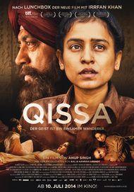 """Filmplakat für """"Qissa - Der Geist ist ein einsamer Wanderer"""""""