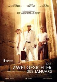 """Filmplakat für """"Die zwei Gesichter des Januars"""""""