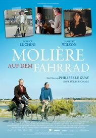 "Movie poster for ""CYCLING WITH MOLIERE"""