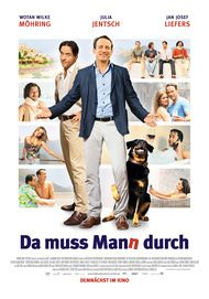 "Movie poster for ""Da muss Mann durch"""