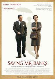 "Movie poster for ""Saving Mr. Banks"""