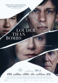 "Movie poster for ""LOUDER THAN BOMBS"""