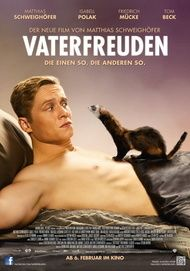 "Movie poster for ""Vaterfreuden"""
