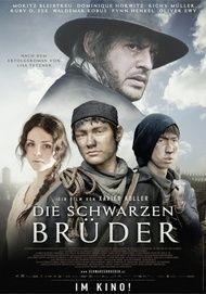 """Filmplakat für """"Die Schwarzen Brüder"""""""