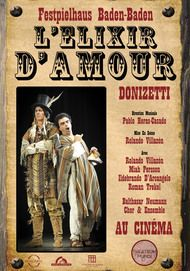 "Movie poster for ""L'ELISIR D'AMORE"""