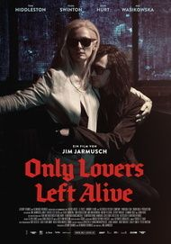 "Movie poster for ""ONLY LOVERS LEFT ALIVE"""