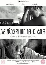 """Filmplakat für """"Das Mädchen und der Künstler"""""""