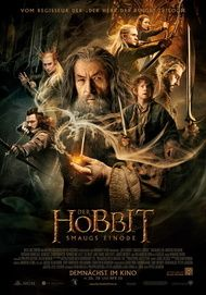 "Movie poster for ""The Hobbit: The Desolation of Smaug"""