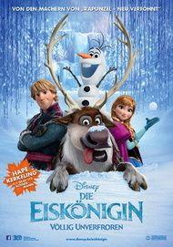 """Movie poster for """"Die Eiskönigin - Völlig unverfroren"""""""