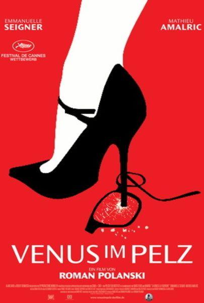 """Filmplakat für """"Venus im Pelz"""""""