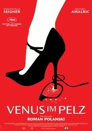 "Movie poster for ""LA VENUS A LA FOURRURE"""