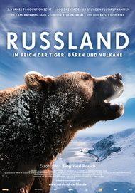 """Filmplakat für """"Russland - Im Reich der Tiger, Bären und Vulkane"""""""