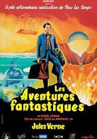 "Movie poster for ""LES AVENTURES FANTASTIQUES"""