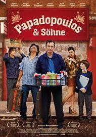 """Filmplakat für """"Papadopoulos & Söhne"""""""