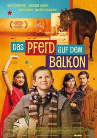 """Filmplakat für """"Das Pferd auf dem Balkon"""""""