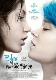 """Filmplakat für """"Blau ist eine warme Farbe"""""""