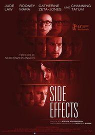 """Filmplakat für """"Side Effects"""""""