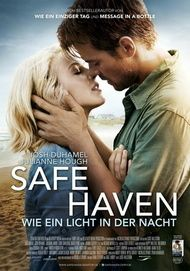 """Filmplakat für """"Safe Haven - Wie ein Licht in der Nacht"""""""