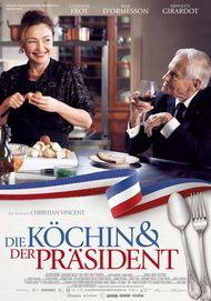 """Filmplakat für """"Die Köchin und der Präsident"""""""
