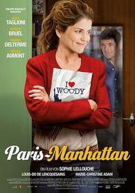 """Filmplakat für """"Paris-Manhattan"""""""