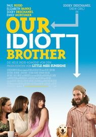 "Filmplakat für ""Our Idiot Brother"""