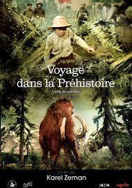 """Movie poster for """"VOYAGE DANS LA PRÉHISTOIRE"""""""