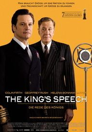 "Filmplakat für ""THE KING'S SPEECH"""