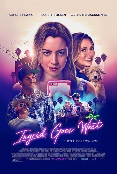 "Movie poster for ""INGRID GOES WEST"""