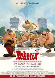 """Movie poster for """"ASTERIX - LE DOMAINE DES DIEUX"""""""