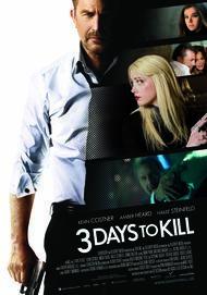 "Filmplakat für ""Three Days to Kill"""