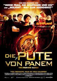 """Filmplakat für """"Die Pute von Panem - The Starving Games"""""""