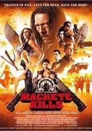 """Filmplakat für """"Machete Kills"""""""