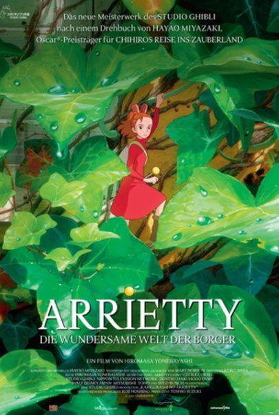 """Movie poster for """"ARRIETTY"""""""