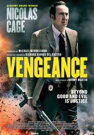 "Movie poster for ""VENGEANCE: A LOVE STORY"""