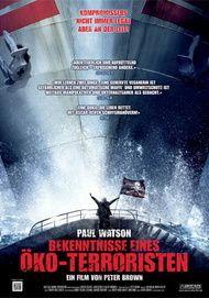 """Filmplakat für """"Bekenntnisse eines Öko-Terroristen"""""""