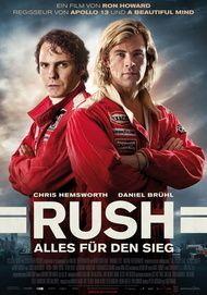 """Filmplakat für """"Rush - Alles für den Sieg"""""""
