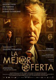 """Movie poster for """"La Migliore Offerta"""""""