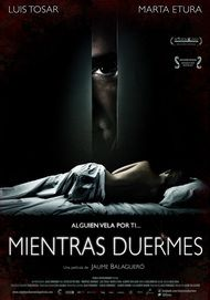 """Movie poster for """"MIENTRAS DUERMES"""""""