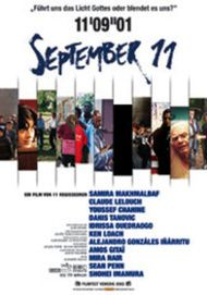 "Filmplakat für ""11'09""01 - September 11"""