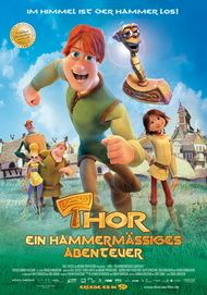 """Filmplakat für """"Thor - ein hammermäßiges Abenteuer"""""""
