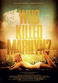 "Filmplakat für ""Who Killed Marilyn?"""