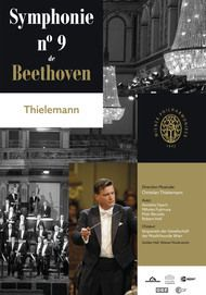 "Movie poster for ""BEETHOVEN 9TH SYMPHONY VIENNA"""
